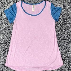 Lularoe classic pink and blue